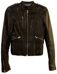 Black Rivet black Leather Jacket