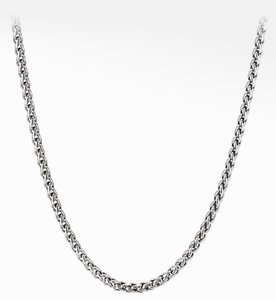 David Yurman David Yurman wheat chain silver with box - authentic