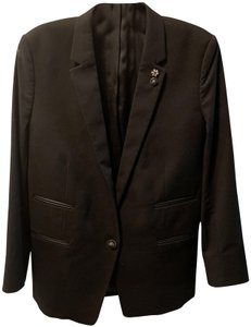 The Kooples Embellished Comfortable Black Blazer