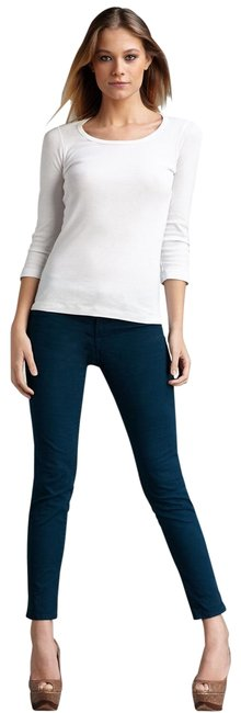 Item - Riviera 811 Mid Rise In Blue Skinny Jeans Size 0 (XS, 25)