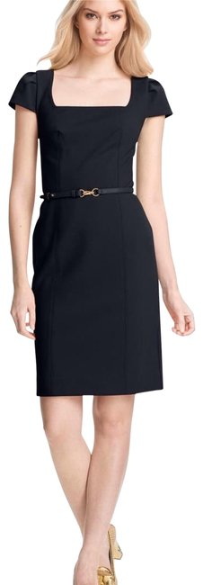 Item - Nwt. Heather Belted Mid-length Short Casual Dress Size 8 (M)