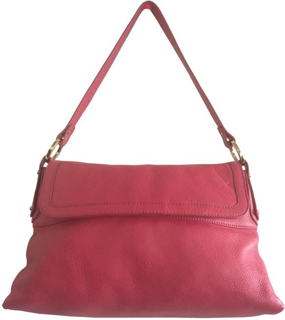Item - Medium Chef Vibrant Pink Leather Baguette