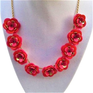 Kate Spade Rosy Posies Necklace New with Tags