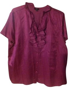 Talbots Top Fuschia