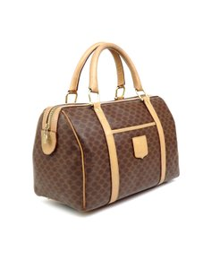 Céline Keepall Monogram Vintage Boston Brown Travel Bag