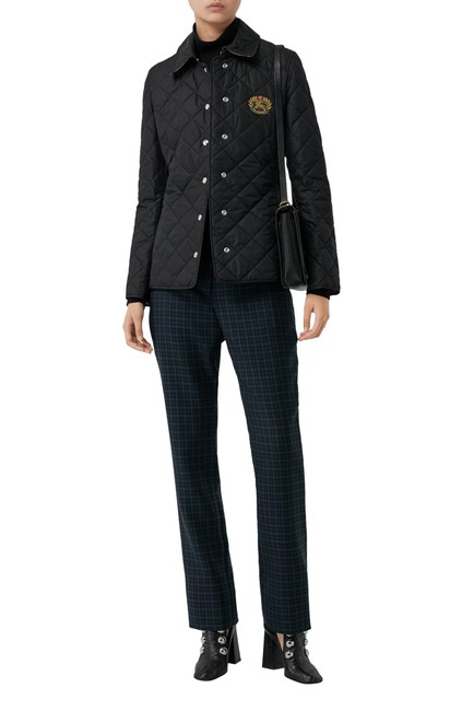 Item - Black Franwell Diamond Quilted Jacket Small Coat Size 4 (S)