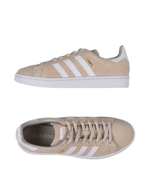 Item - Clear Brown/Running White-crystal White Campus Sneakers Size US 9 Wide (C, D)