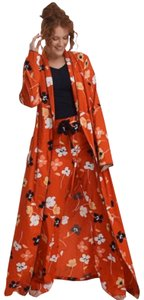 Long Tall Sally ROUGE FLORAL COTTON ROBE