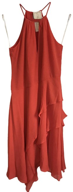 Item - Red Women's Sleeveless Contemporary Mid-length Casual Maxi Dress Size 0 (XS)