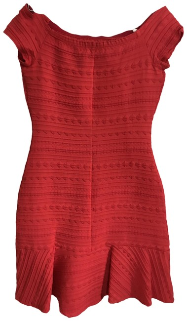 Item - Red Women's Contemporary Short Casual Maxi Dress Size 0 (XS)