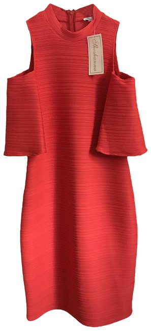 Item - Red Women's Contemporary Mid-length Casual Maxi Dress Size 0 (XS)