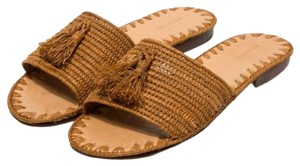 Carrie Forbes tan Sandals