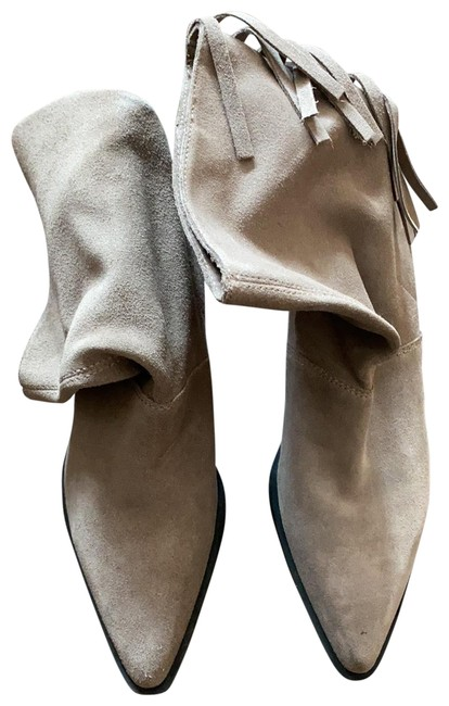 Item - Taupe Worn Once For Couple Hours Boots/Booties Size EU 39 (Approx. US 9) Regular (M, B)