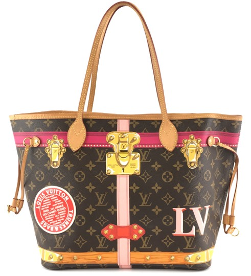 Preload https://img-static.tradesy.com/item/26690158/louis-vuitton-neverfull-35238-new-model-classic-mm-tote-work-brown-with-multicolor-monogram-canvas-s-0-1-540-540.jpg
