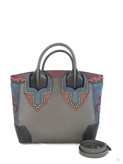 Item - Bag Eloise Multicolor 26589 Gray Leather Tote
