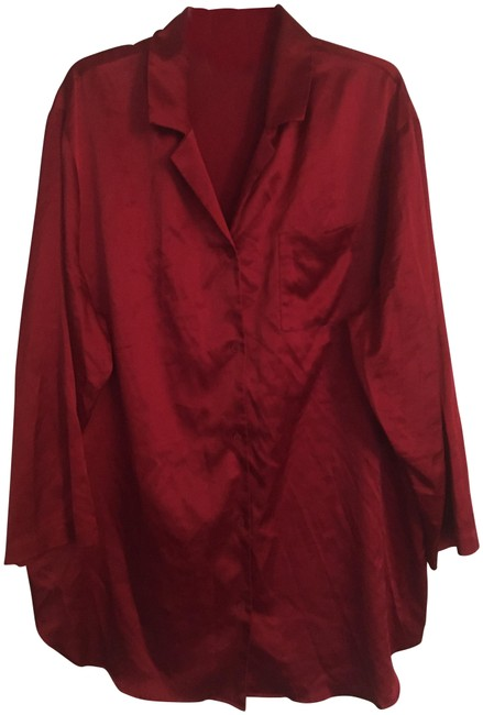 Item - Red Satin Sleep Shirt