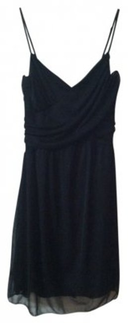Preload https://item2.tradesy.com/images/charlotte-russe-black-criss-cross-front-with-ruched-party-above-knee-short-casual-dress-size-4-s-26691-0-0.jpg?width=400&height=650