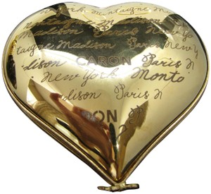 Caron Limited Edition numbered Caron perfume in Limoges Heart box, Montaigne