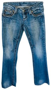 ZCO Jeans Boot Cut Jeans-Medium Wash