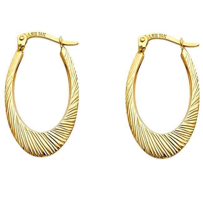 Top Gold & Diamond Jewelry Yellow 14k 1.7mm Cut For Women Avg. Weight - 1.4 Earrings Top Gold & Diamond Jewelry Yellow 14k 1.7mm Cut For Women Avg. Weight - 1.4 Earrings Image 1