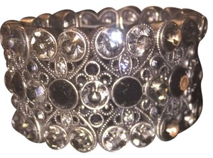 Lia Sophia Retired Twilight Rare Stretch Bracelet - Heavy Vintage Details