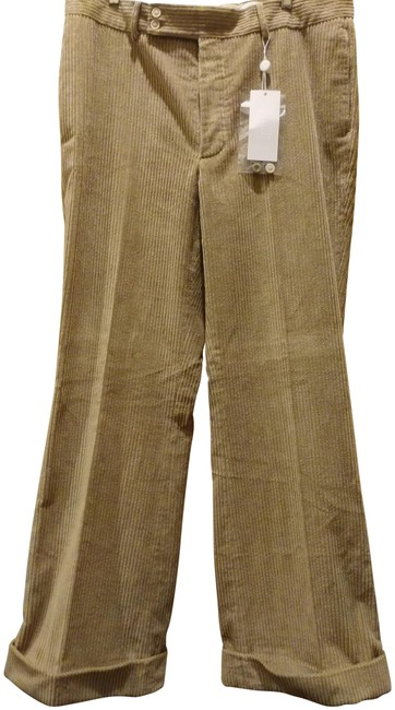 Item - Bisque XL 54 (Xl) Corduroy Wide Leg Pants Size 16 (XL, Plus 0x)