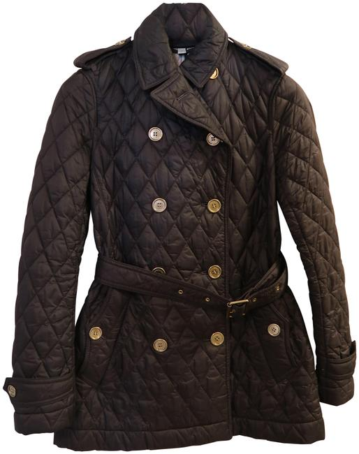 Item - Brown Women's Quilted Jacket Size 6 (S)