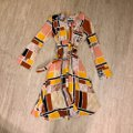Anthropologie Multi Color The Odells Mid-length Short Casual Dress Size 4 (S) Anthropologie Multi Color The Odells Mid-length Short Casual Dress Size 4 (S) Image 5