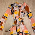 Anthropologie Multi Color The Odells Mid-length Short Casual Dress Size 4 (S) Anthropologie Multi Color The Odells Mid-length Short Casual Dress Size 4 (S) Image 6