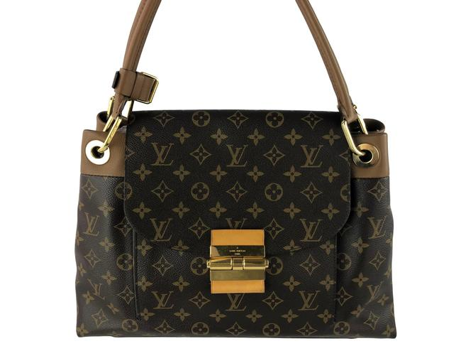 Louis Vuitton Olympe Brown Monogram Canvas Shoulder Bag Louis Vuitton Olympe Brown Monogram Canvas Shoulder Bag Image 1