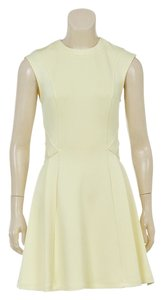 Ted Baker short dress Yellow on Tradesy