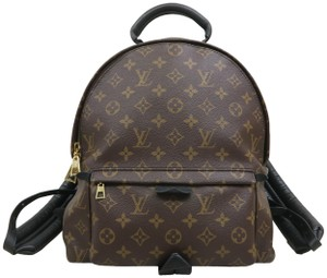 Louis Vuitton Lv Palm Springs Mm Monogram Canvas Backpack