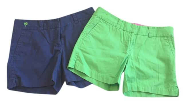 Item - Blue and Green Chino Shorts Size 2 (XS, 26)