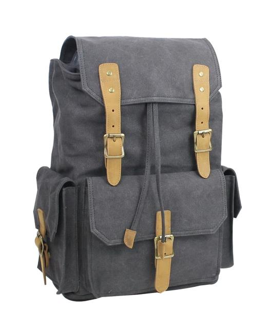 Item - Classic Large Ck11 Grey Canvas Backpack