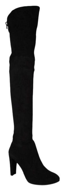 Item - Black Women's Highland Suede Over-the-knee Boots/Booties Size US 9.5 Wide (C, D)