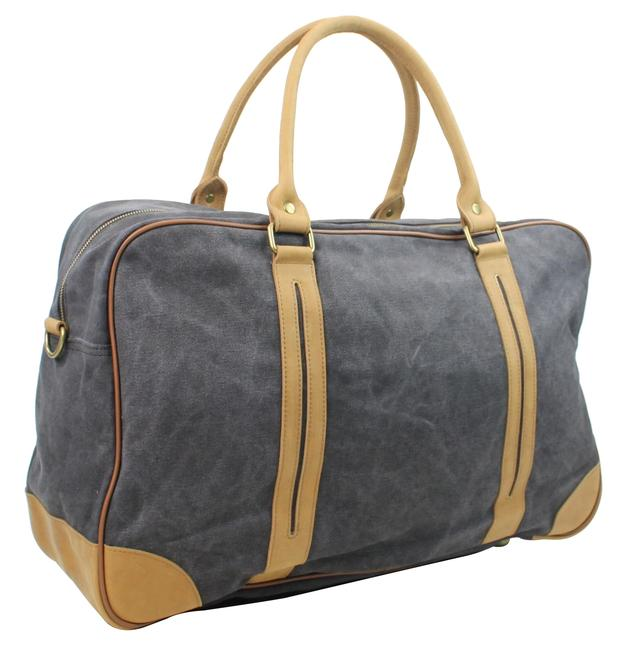 Item - Duffle Classic Large C77 Grey Canvas Weekend/Travel Bag