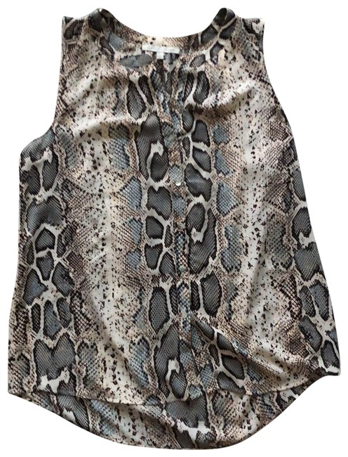 Item - Snakeskin Multi Anthropologie Sleeveless Tunic Size 12 (L)