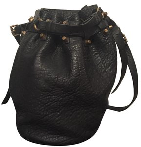 Alexander Wang Leather Bucket Musthave Easy Cross Body Bag