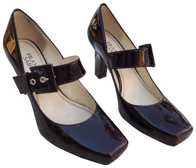 Franco Sarto Oxblood Tenor Patent Leather Mary Janes Pumps Size US 6.5 Regular (M, B) Franco Sarto Oxblood Tenor Patent Leather Mary Janes Pumps Size US 6.5 Regular (M, B) Image 1