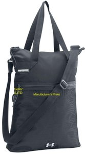Under Armour Lightweight Shoulder Strap Carry-all Water-resistant Tote in Gray