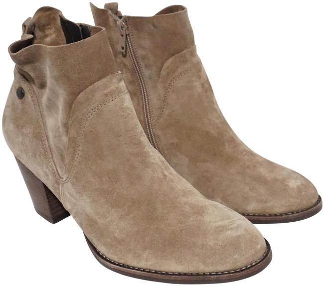 Item - Tan Nora Water Resistant Ankle Brown Suede Boots/Booties Size US 9 Regular (M, B)