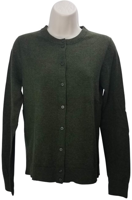 Item - Green Mercantile Button Cardigan Size 4 (S)