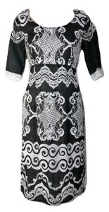 Chris McLaughlin Damask Lace New With Tags Dress