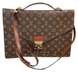 Louis Vuitton Porte Messenger Business Crossbody Laptop Bag