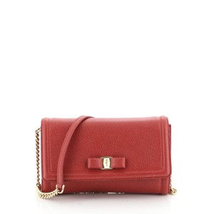 Salvatore Ferragamo Crossbody Leather Shoulder Bag