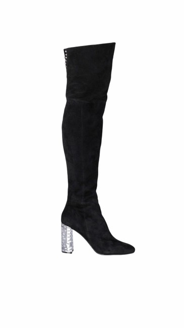 Item - Black Over The Knee Boots/Booties Size US 6.5 Regular (M, B)