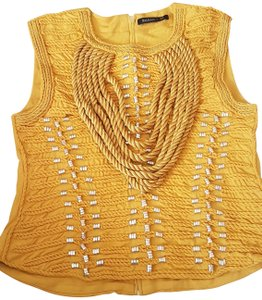 Balmain x H&M Top Mustard yellow