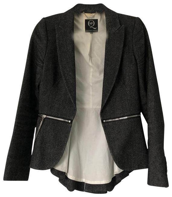 Item - Grey and Silver Chain Up59 2012 Blazer Size 6 (S)