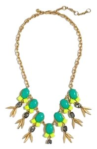 Preload https://item4.tradesy.com/images/jcrew-greenyellow-multi-color-greenyellow-statement-wpouch-necklace-2670208-0-0.jpg?width=440&height=440