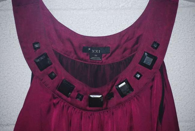 Other short dress Raspberry Purple Pink Silk Sleveless Chic on Tradesy